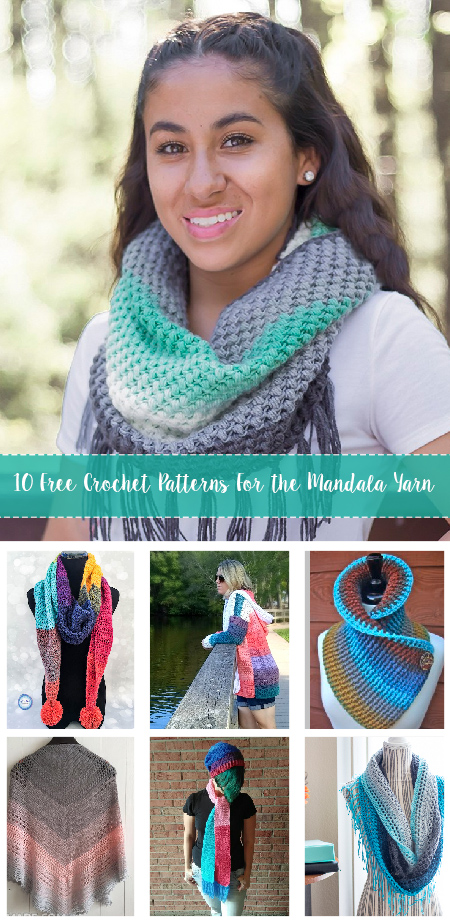 Free Crochet Patterns For The Mandala Yarn Crafty Tutorials Inspiration Mandala Yarn Patterns
