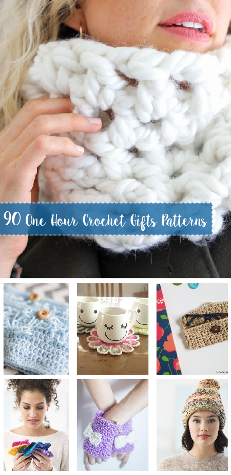 One Hour Crochet Gifts Free Patterns 1