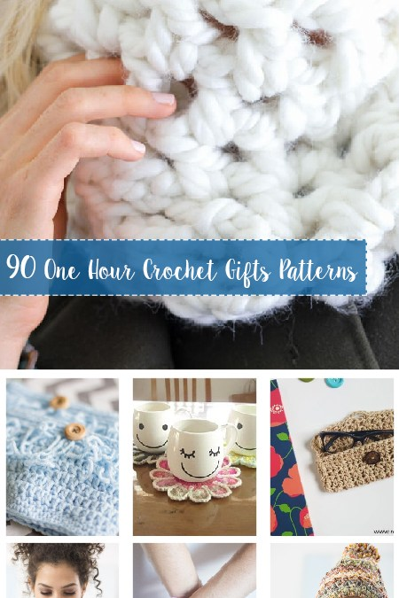 One Hour Crochet Gifts Free Patterns