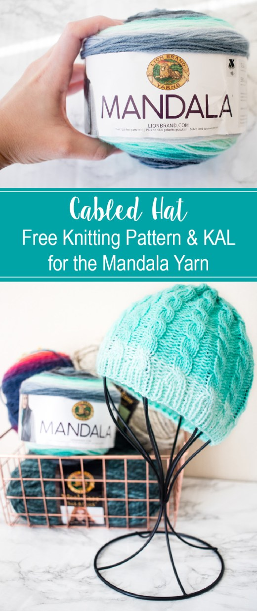 Cabled Hat - Free Knitting Pattern & KAL - Week ONE 4