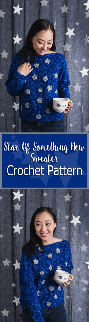 Star of something new crochet pattern
