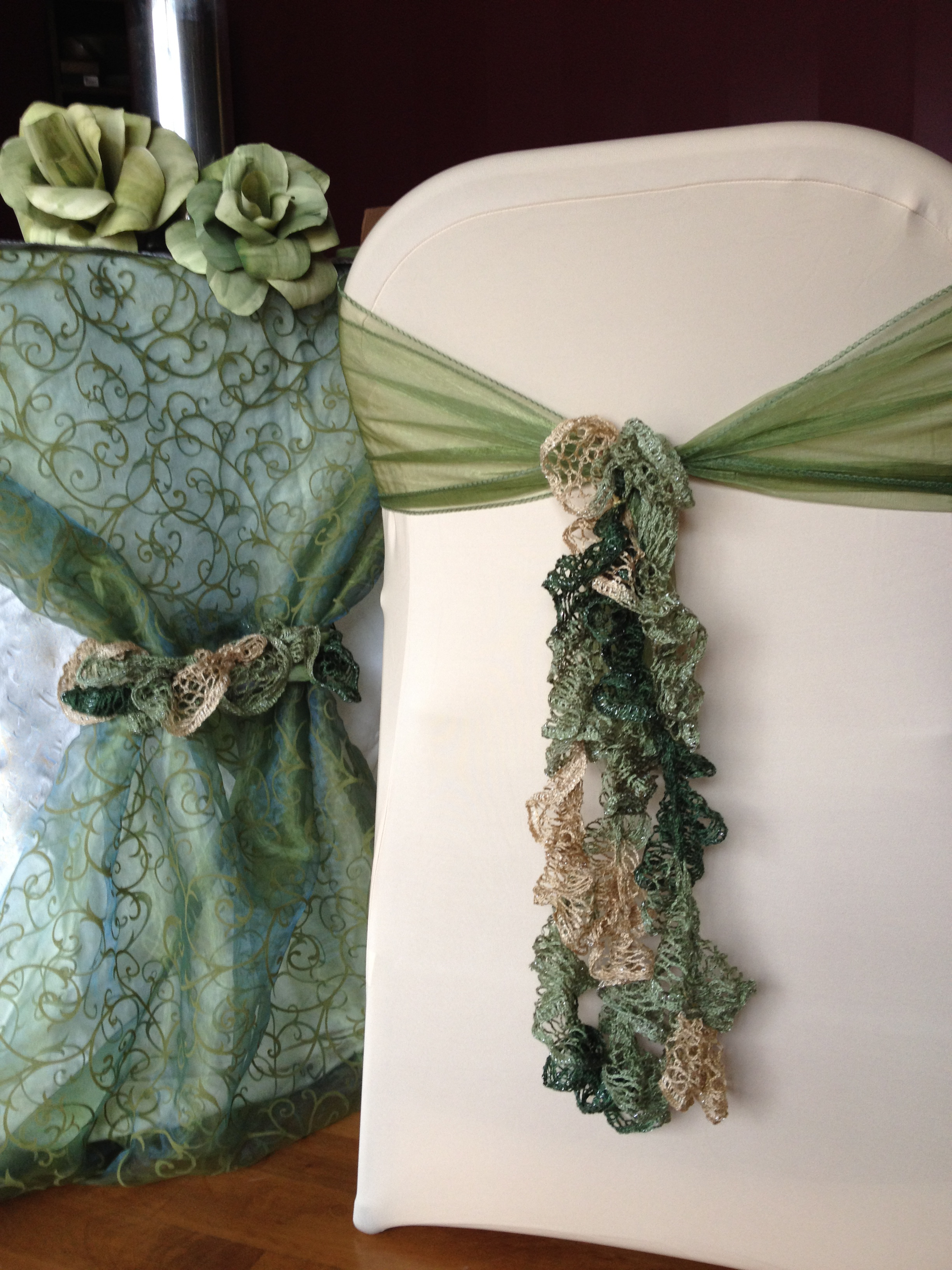 how to tie a slip knot chair sash santa covers bed bath and beyond unique different crafty wedding