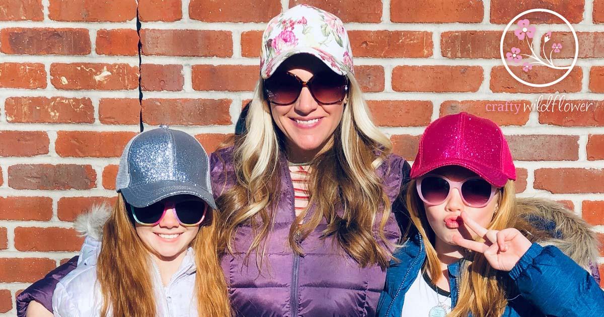 Susan Littles CC Trucker Hats Sparkle