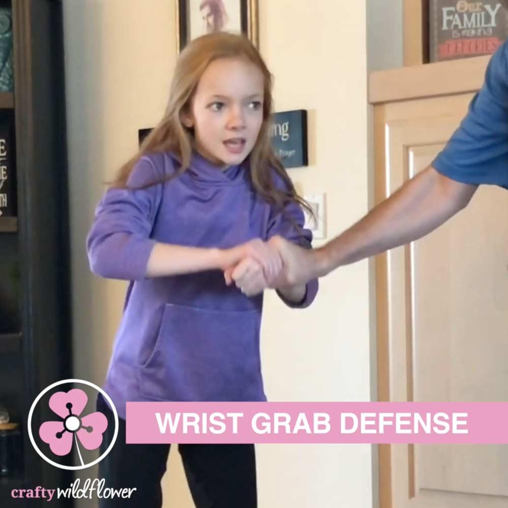 Wrist Grab Defense Self Defense Saturday