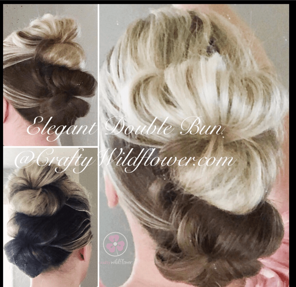 Tangled Thursday - Easy Elegant Double Bun