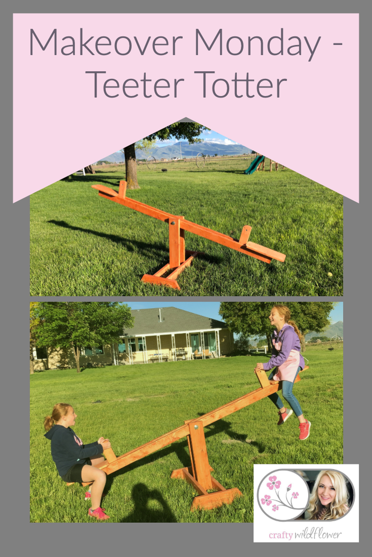 Makeover Monday - Teeter Totter