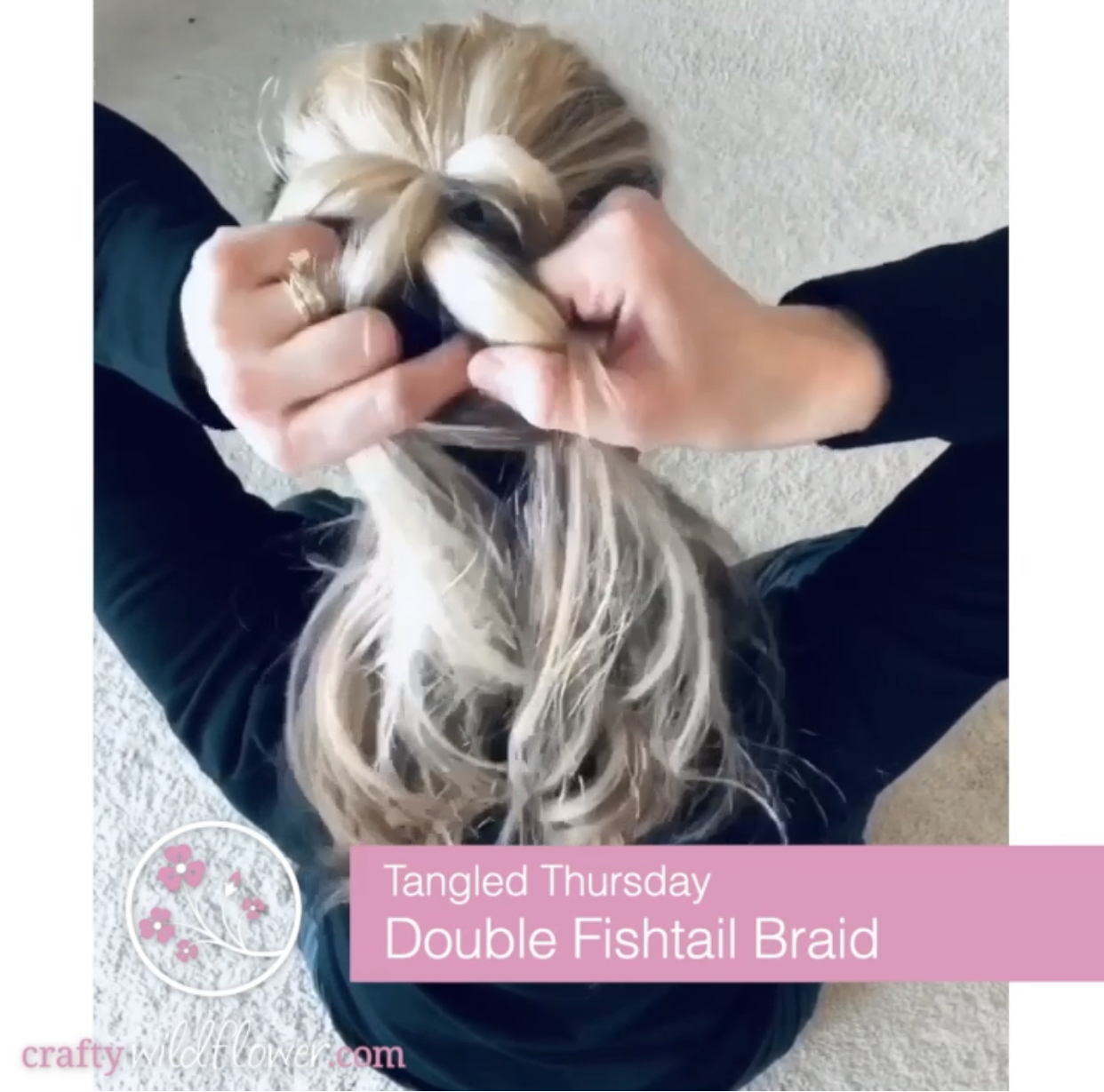 Tangled Thursday - Double Fish Tail Braid