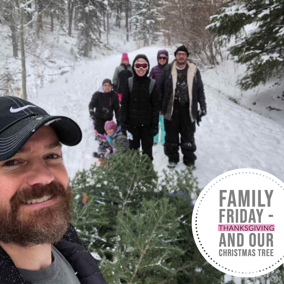 Family Friday - Thanksgiving and our Christmas Tree