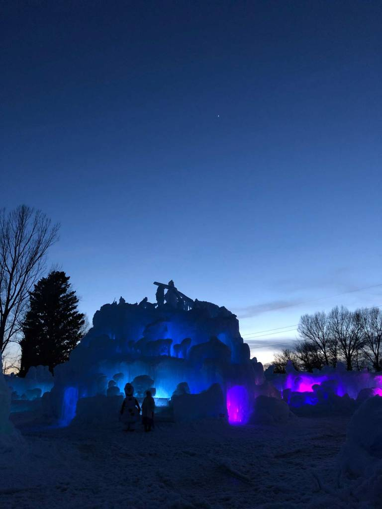 Family Friday - LaBelle Ice Castles