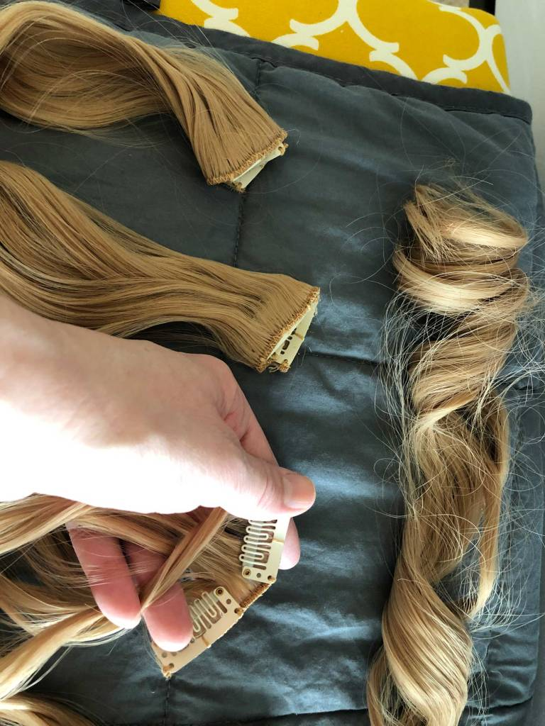 Tangled Thursday - Clip in Extensions