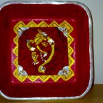 Lord Ganesha Painting on Thermocol