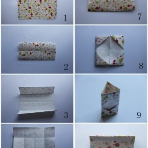How to Paper Folding Box