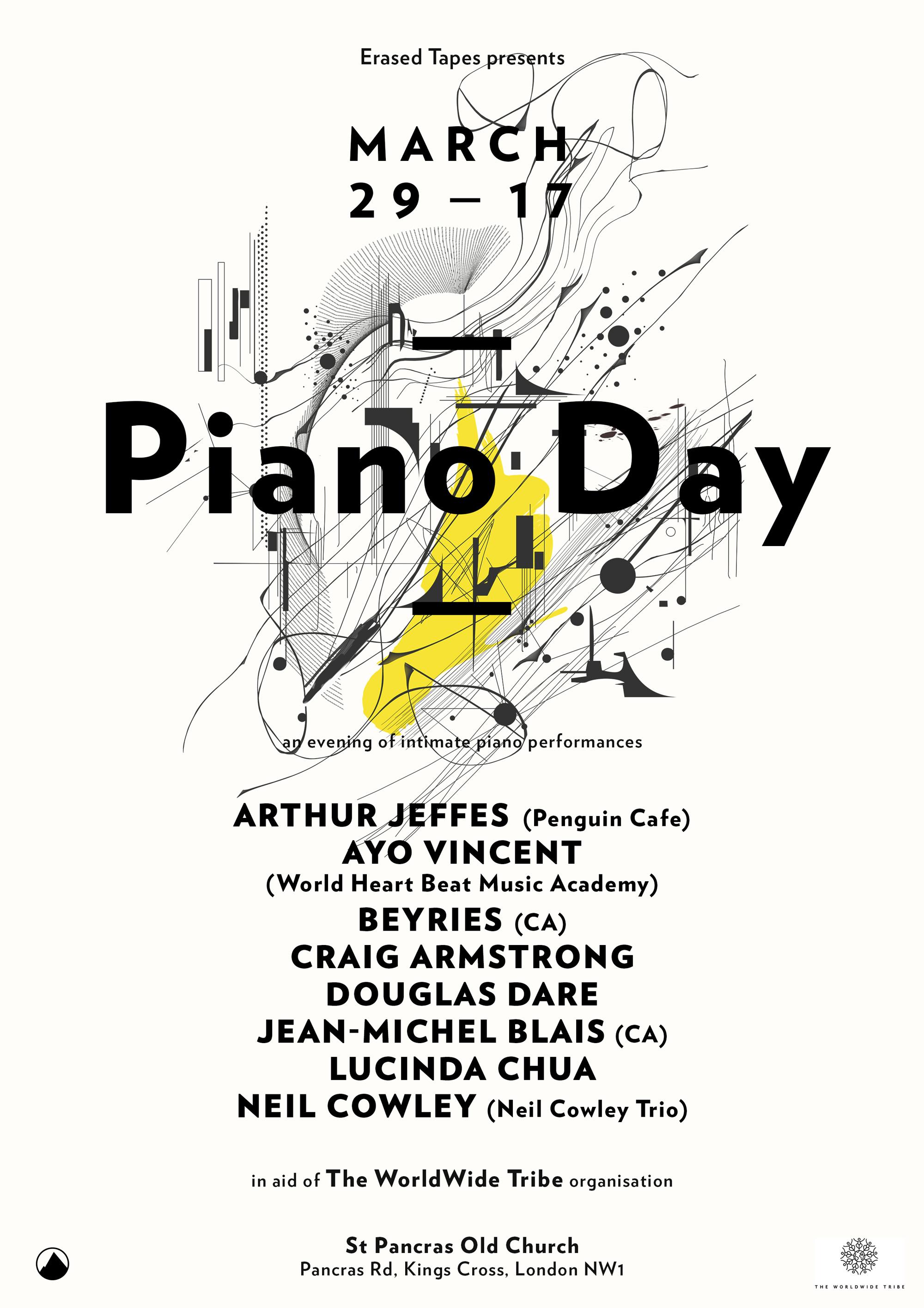 Craig Armstrong — Piano Day