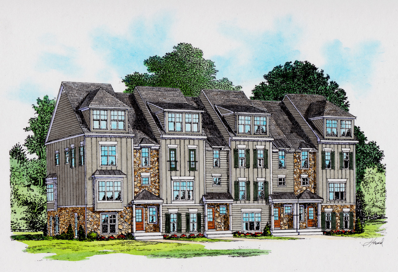 Old Trail Townhomes by Craig Builders