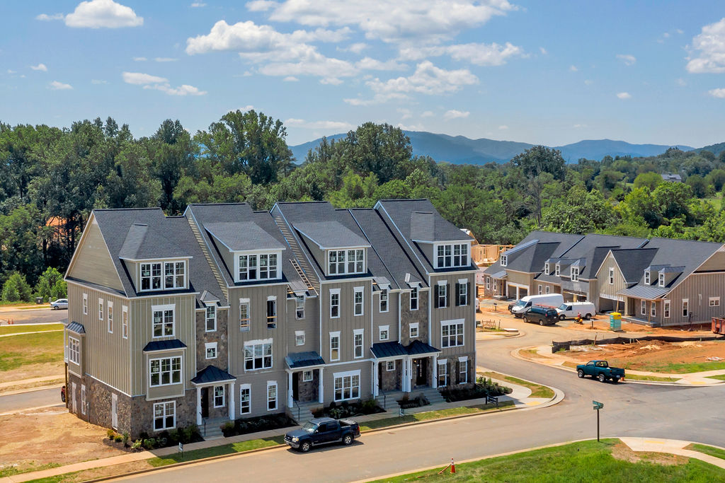 Exterior photo of Old Trail Townes built by Craig Builders