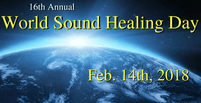 World Sound Healing Day 2018