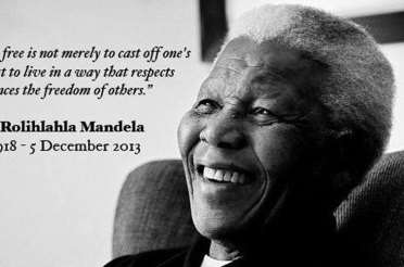 Safe travels, Madiba [1918 – 2013]
