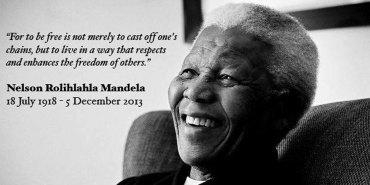 Safe travels, Madiba [1918 – 2013]