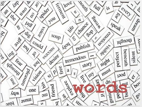 Story Architecture, Lesson 1: A Few Words On Words