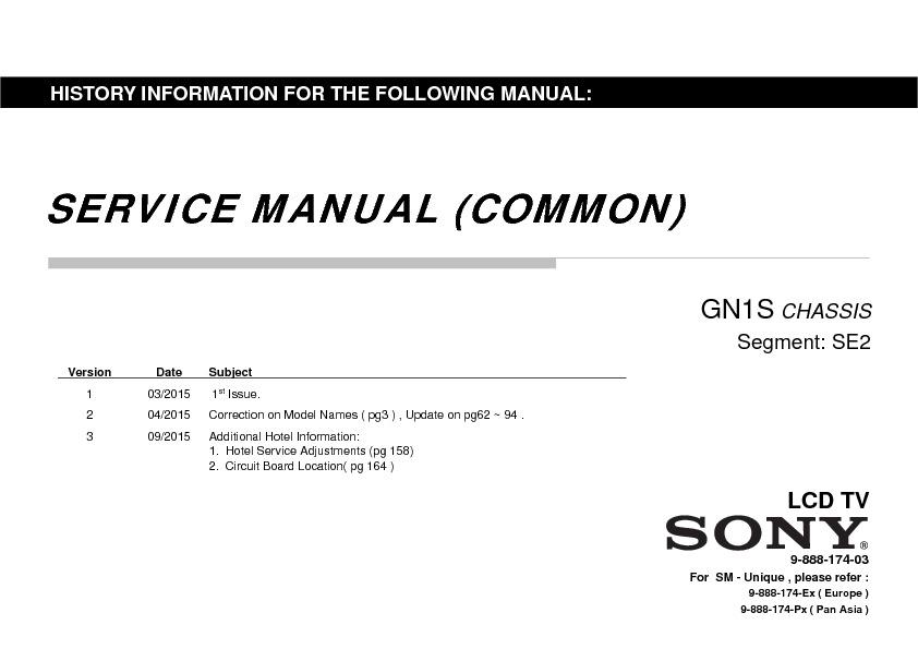 Sony tv model kdl-48r510c manual