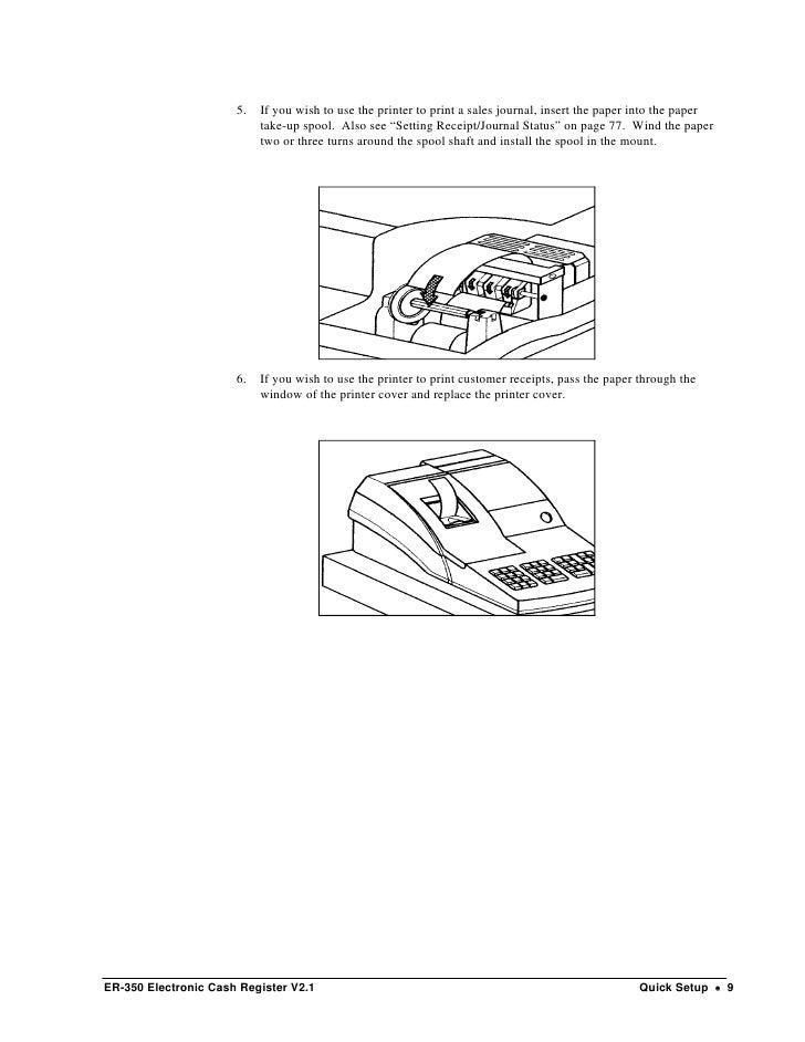 Samsung cash register manual er 350