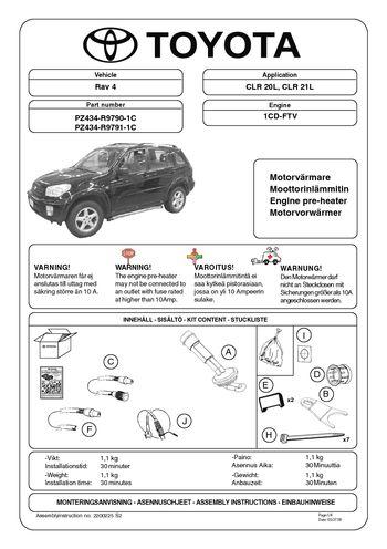 Toyota rav4 2001 manual pdf