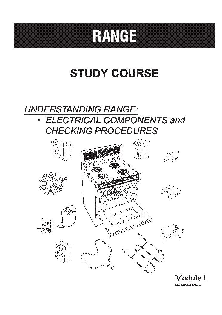 Whirlpool range repair manual download