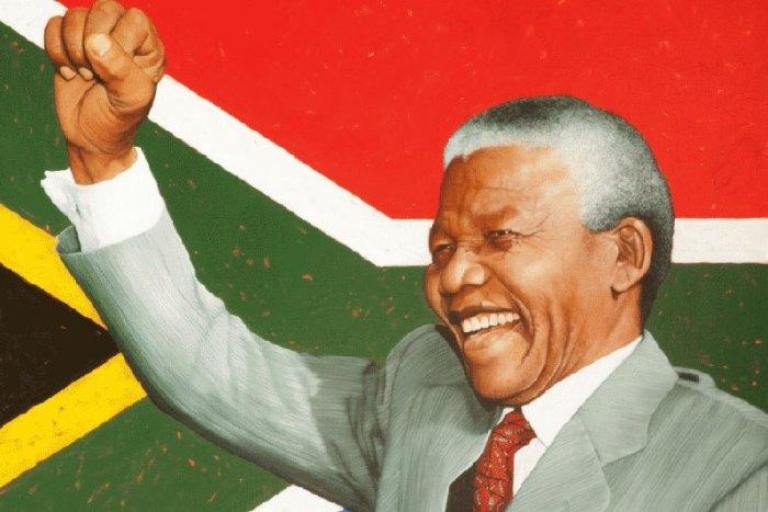 Are leaders born Craig Johns Nelson Mandela