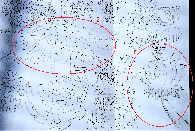 12 12 12 X 12 S Contemplating Flight The Doodle 19