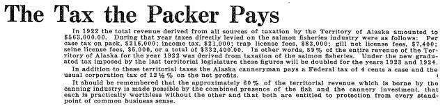 salmon tax