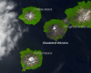 The potentially explosive Islands of Four Mountains now thought to all be part of one massive volcano/NASAIsland