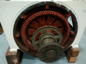 stator and poles in a marine three phase generator - craig miles
