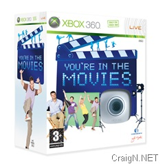 You're In The Movies boxart