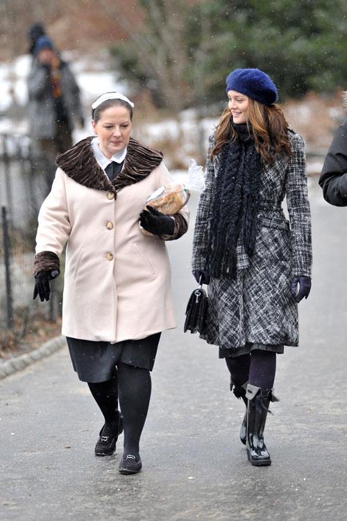 Dorota and Blair Waldorf
