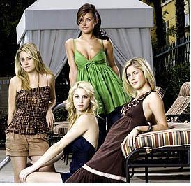 The Hills: Lauren, Whitney, Audrina, and Heidi