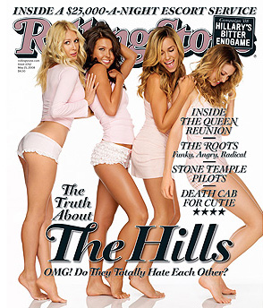 The Hills on Rolling Stone: Heidi, Audrina, Lauren, and Whitney