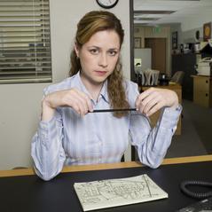Jenna Fischer as Pam Beesly