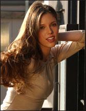 Kayla Ewell as party girl, Vicki