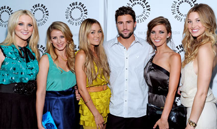 Stephanie, Lo, Lauren, Brody, Audrina, and Whitney at Paley Fest 09