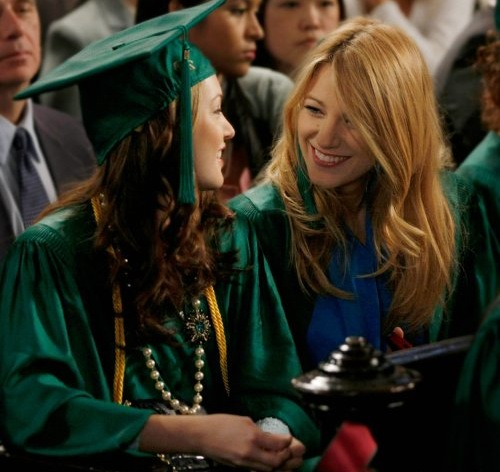 Blair and Serena will be graduating next week!
