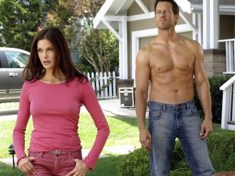James Denton plays Mike, Susan's (Teri Hatcher) ex and Katherine's (Dana Delaney) current boyfriend.