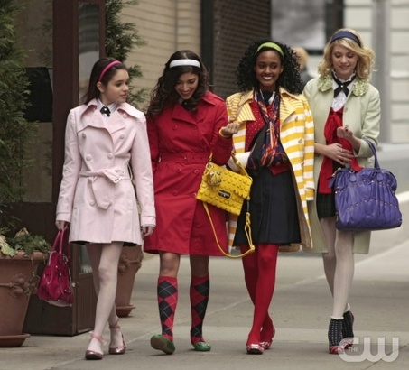 The Mean Girls and Jenny (Taylor Momsen)