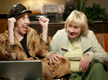Roberta and Mrs. McClusky