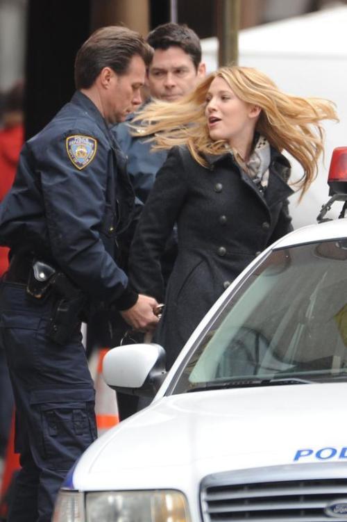 Serena getting arrested!