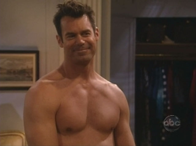 Tuc Watkins plays gay neighbor, Bob.