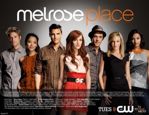Melrose Place Season 1 Promo Poster