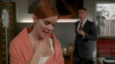Marcia Cross as Bree and Richard Burgi as Karl