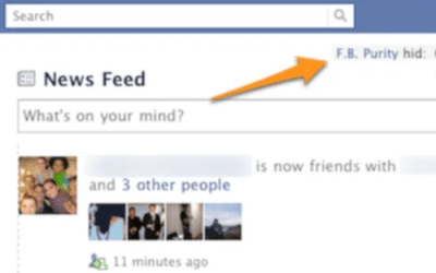 F. B. Purity Hides Annoying Facebook Applications And News Feed Updates