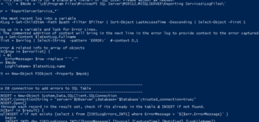 Powershell snippet background