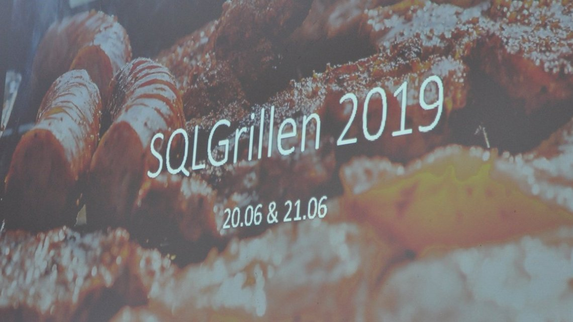 Speaking at SQLGrillen